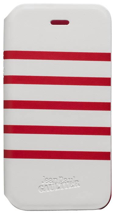 jean paul gaultier folio case marini re white red. Black Bedroom Furniture Sets. Home Design Ideas
