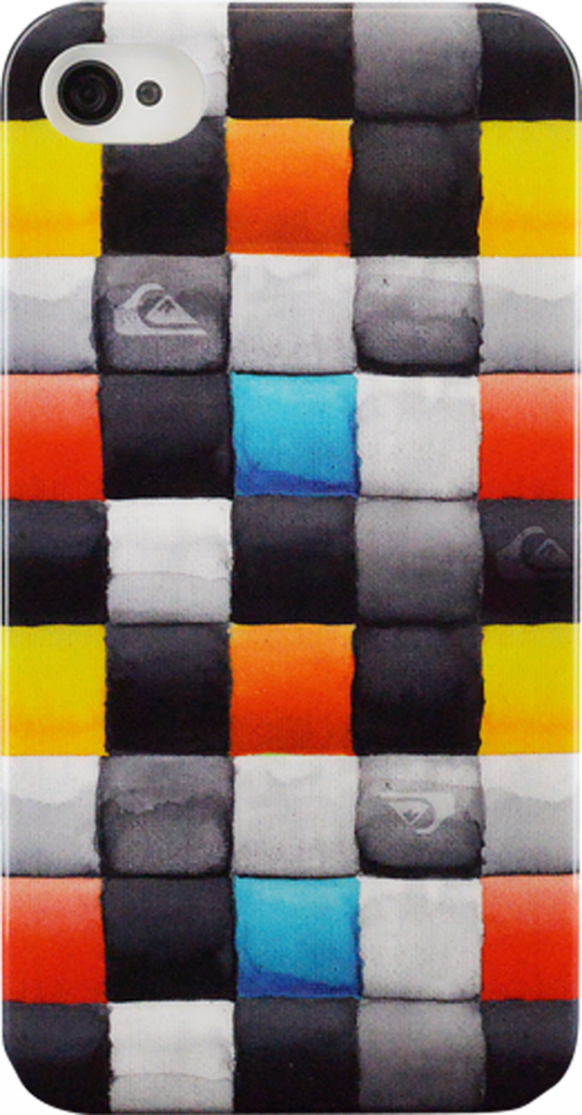 Quiksilver rigid back case for iPhone 4/4S - Packshot