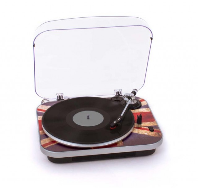 "Turntable TD120 ""GB"" - Packshot"