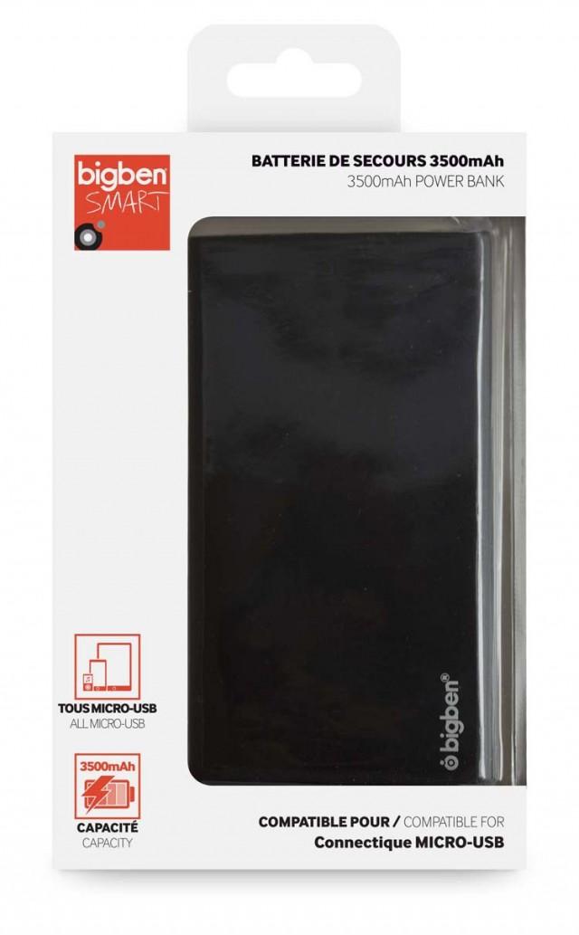 3500 mAh Power Bank (black) - Packshot