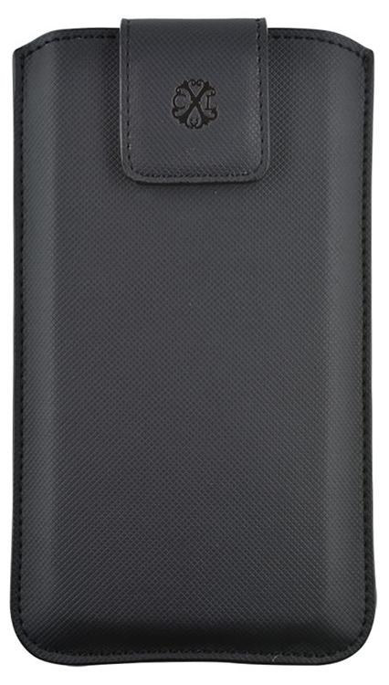 """CHRISTIAN LACROIX Universal pouch """"Canvas CXL"""" (Black) - Packshot"""