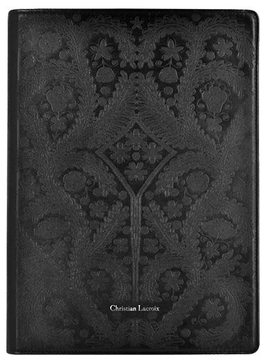 "CHRISTIAN LACROIX Tablet folio case ""Paseo"" (Black) - Image"