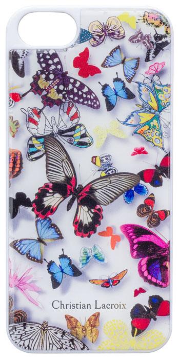 "CHRISTIAN LACROIX Hard case ""Butterfly Parade"" (Opalin) - Packshot"