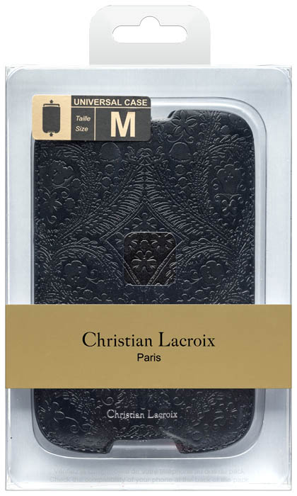 Christian lacroix universal pouch paseo black bigben en audio gamin - Christian lacroix accessories ...