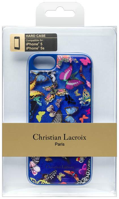 Christian lacroix hard case butterfly parade cobalt bigben en audio - Christian lacroix accessories ...