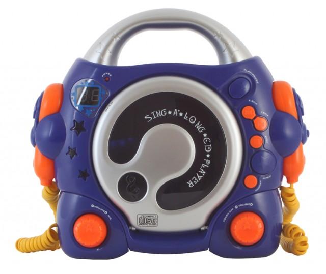 "Karaoke CD Player ""Jimmy Blues"" - Packshot"
