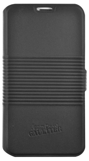"Jean-Paul Gaultier Folio case ""Tin can"" (black) for Samsung Galaxy S5"