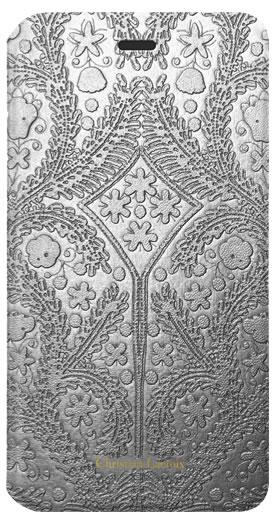 "CHRISTIAN LACROIX folio case ""Paseo"" (Silver) - Packshot"