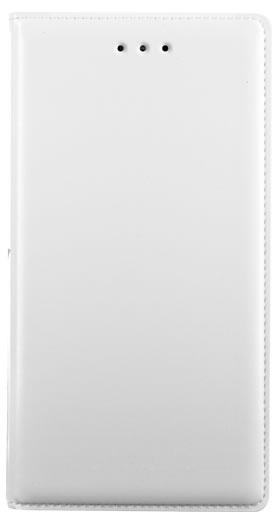 Folio case faux-leather (White) - Packshot