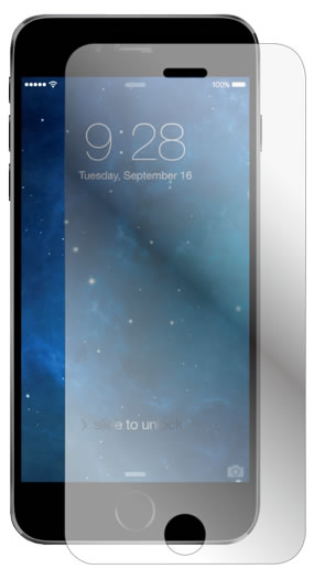 Screen protection in tempered glass - Packshot