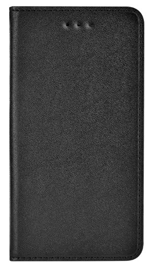 Folio case faux-leather (Black) - Packshot