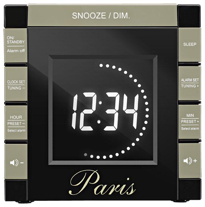 """e0e181d7c28eea Alarm Clock Radio Projector """"Paris"""" RR70PPARIS BIGBEN   Bigben EN ..."""