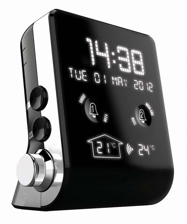 Mini Clock-Radio (Black) - Packshot