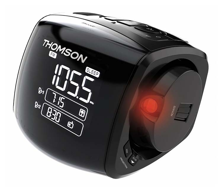 Alarm Clock Projector Cp280 Thomson Bigben En Audio