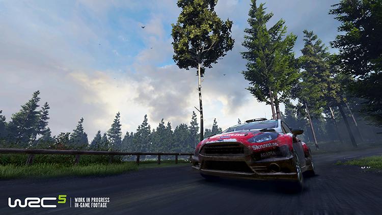 WRC 5 – Screenshot #5