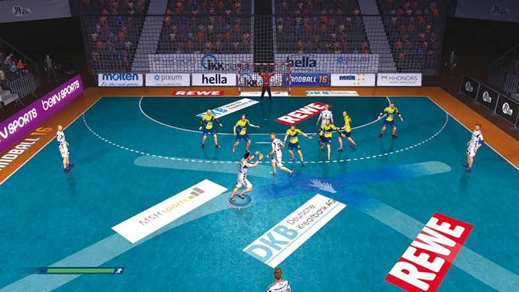 Handball 16 – Screenshot #1
