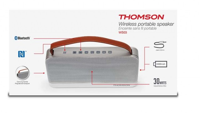 THOMSON Wireless Portable Speaker – Image   #1