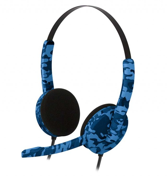 PS4 headset Camo (Blue) - Packshot