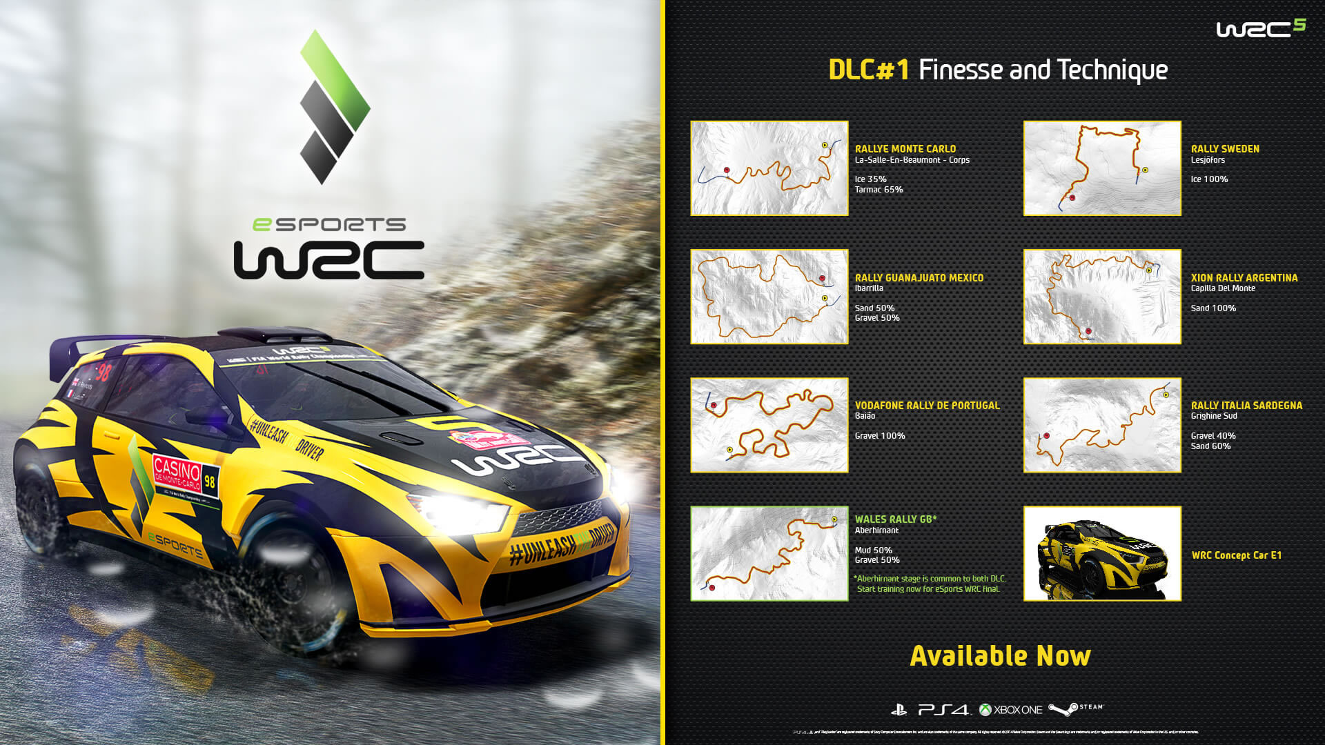 eSports WRC now available in WRC 5! | Bigben EN | Audio | Gaming ...