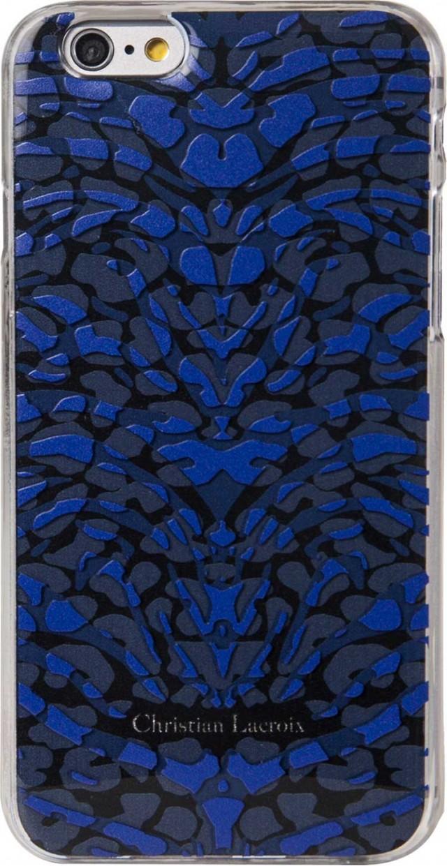 "CHRISTIAN LACROIX Hard Case ""Pantigre""(Blue) - Packshot"
