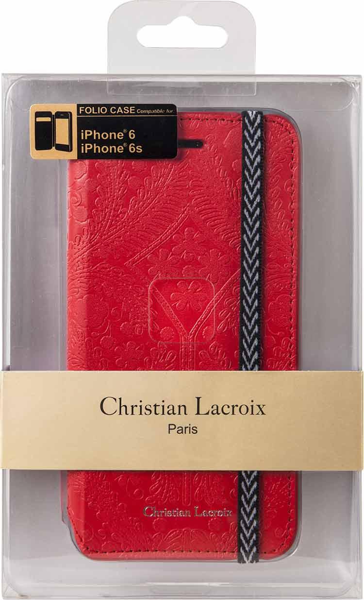 Christian lacroix folio case paseo red bigben en audio gaming smar - Christian lacroix accessories ...
