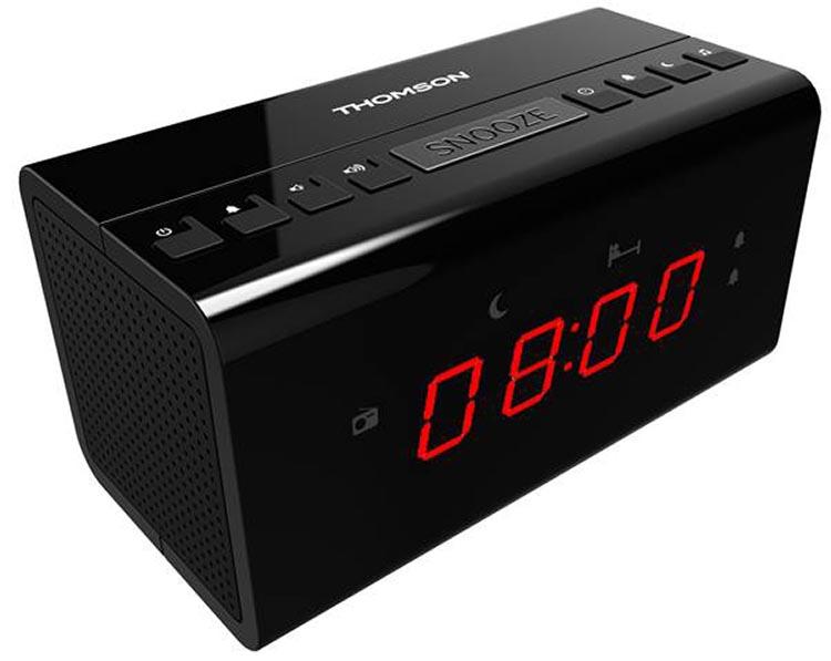 clock radio cr50 thomson bigben en audio gaming smartphone tablet accessories videogames. Black Bedroom Furniture Sets. Home Design Ideas