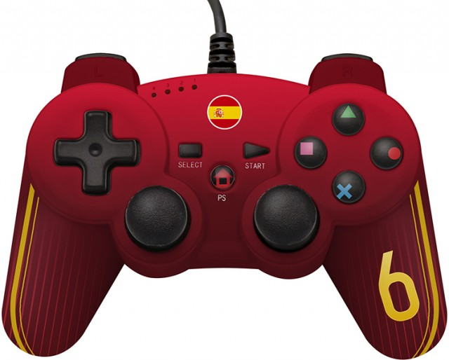 Wired controller for use with your PS3™ limited edition football - Packshot