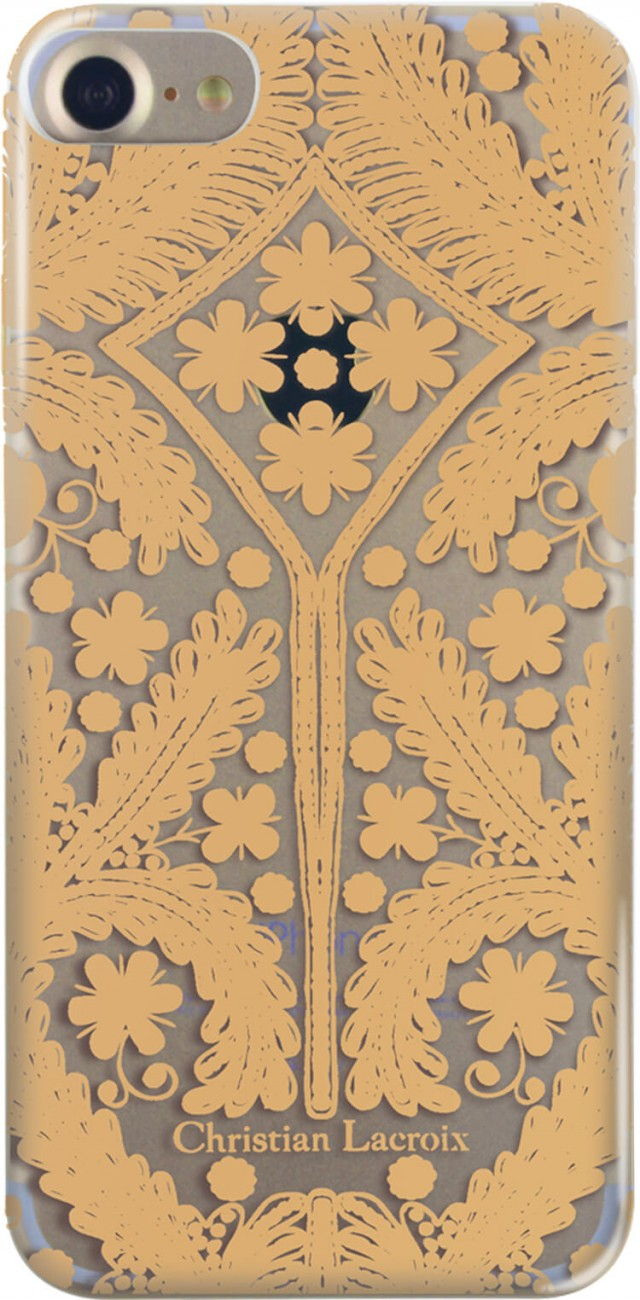 CHRISTIAN LACROIX Paseo folio case (gold) - Packshot