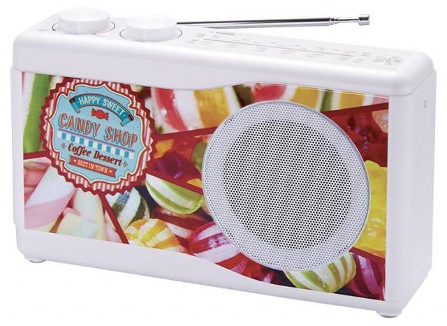 Portable radio (candy) - Packshot