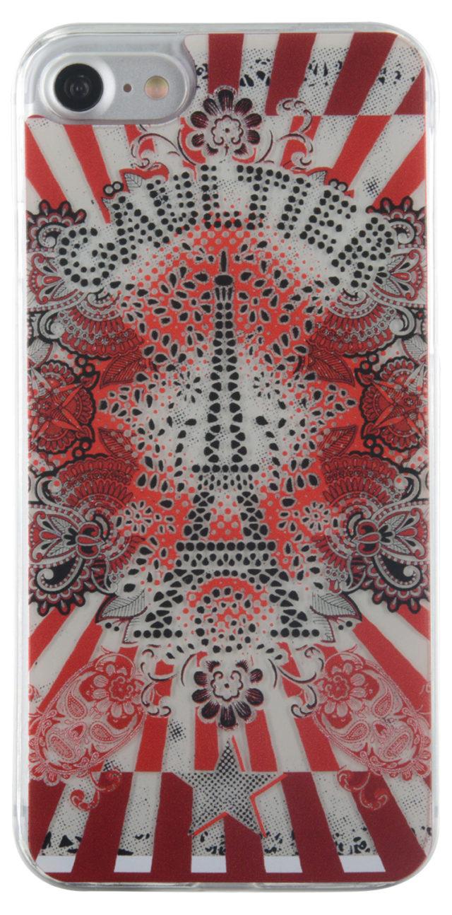 JEAN PAUL GAUTHIER Hard case Eiffel Tower (rouge) - Packshot