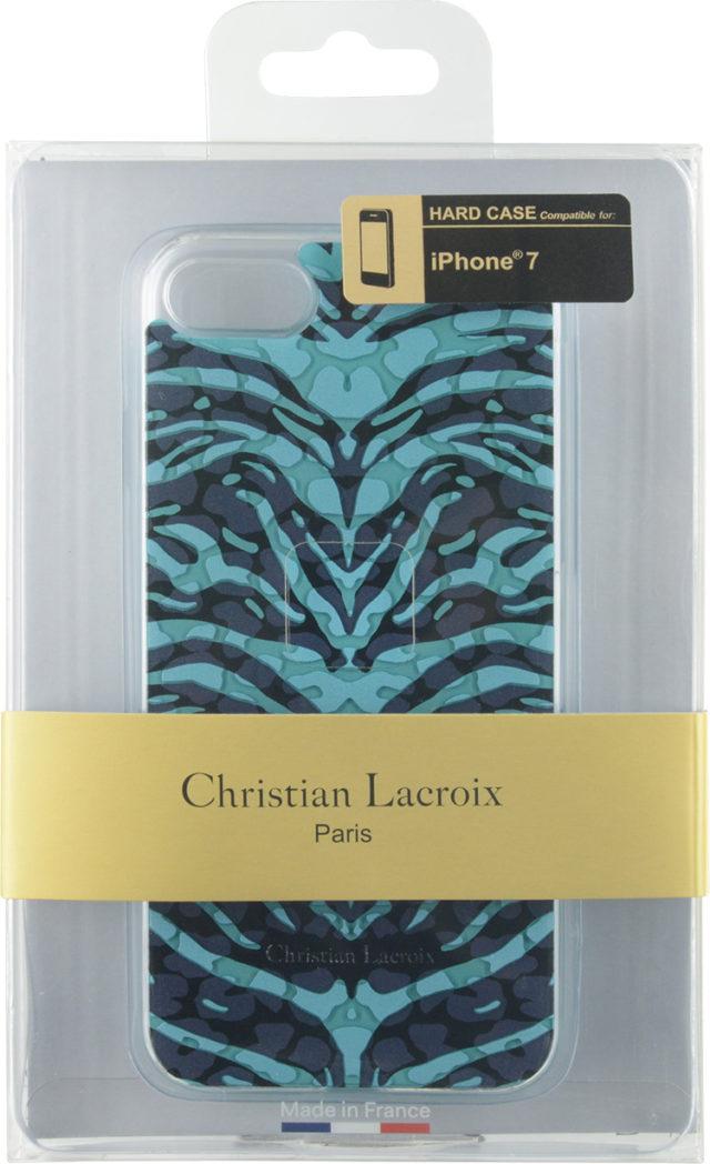 "CHRISTIAN LACROIX Hard Case ""Pantigre""(Turquoise) – Image"