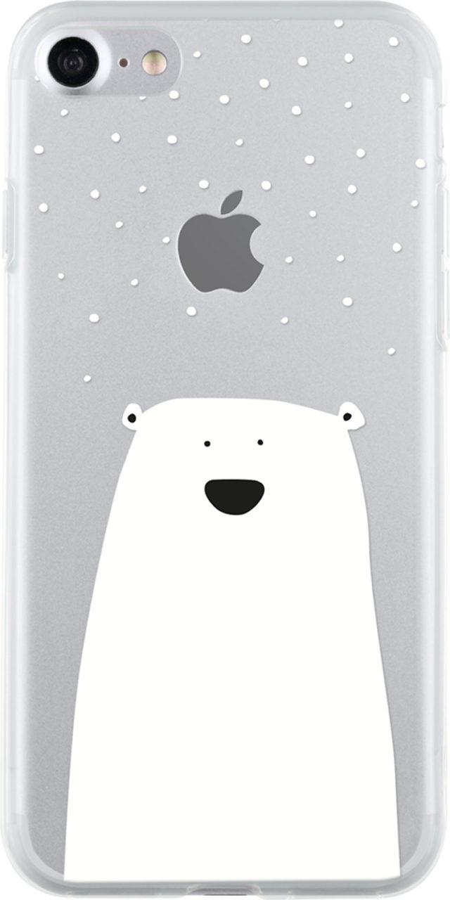 Semi-rigid case clear (little white bear) - Packshot