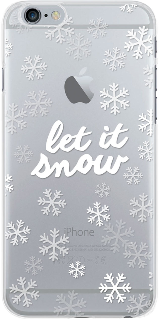Semi-rigid case (let it snow) - Packshot