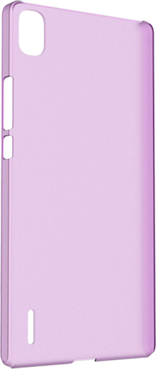 Hard case clear (violet) - Packshot