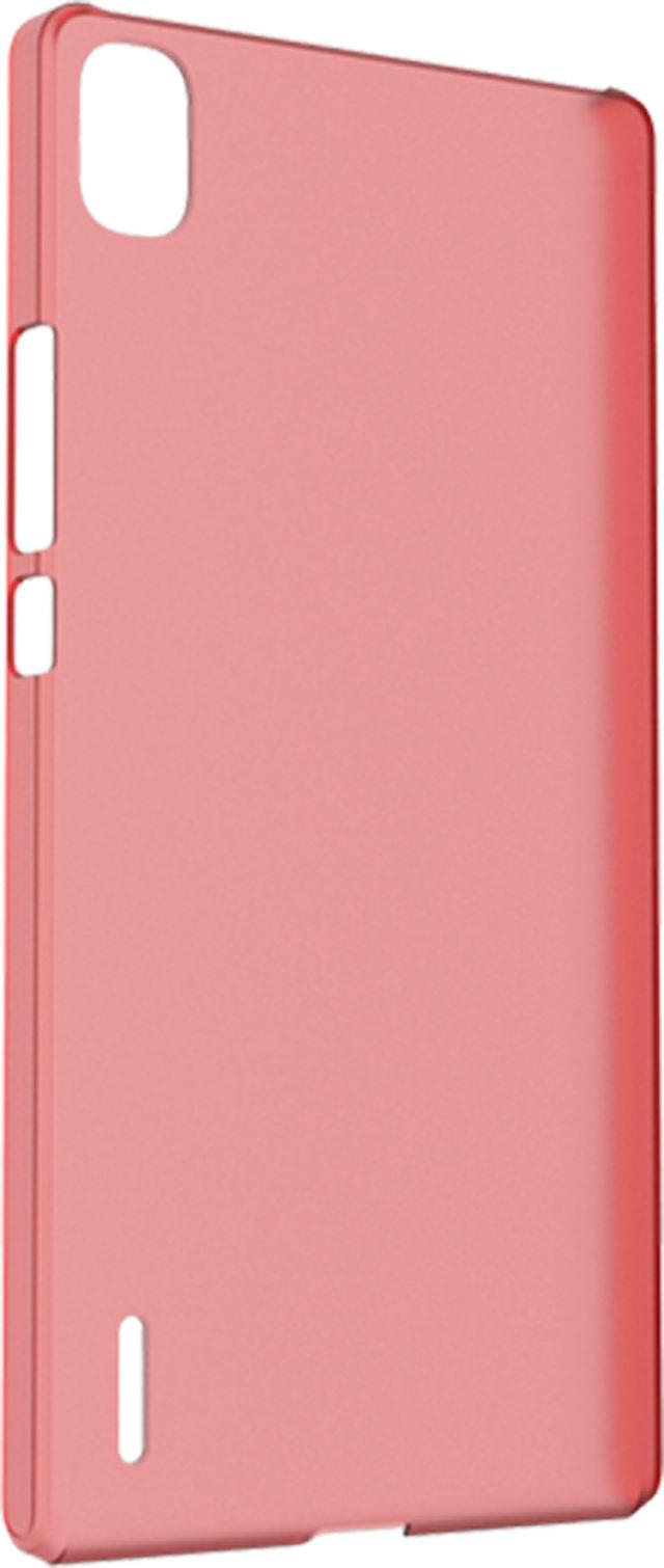 Hard case clear (red) - Packshot