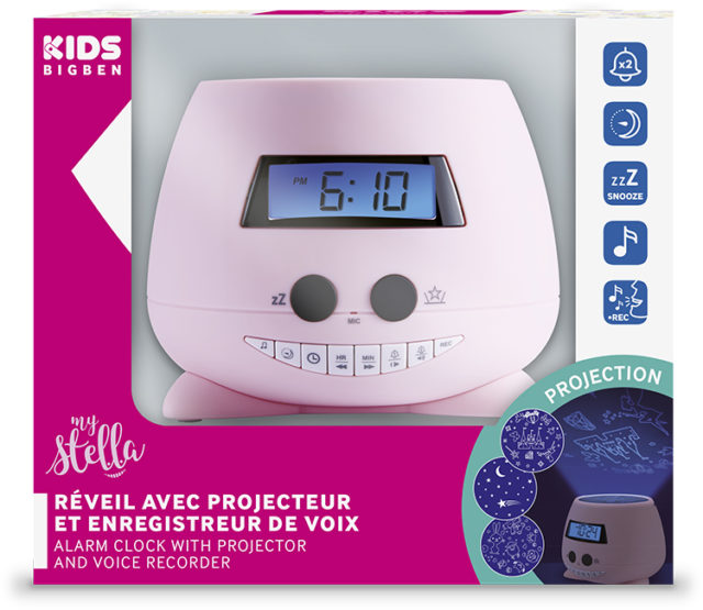 Alarm clock with projector(my Stella) – Image  #2tutu#4tutu#6tutu