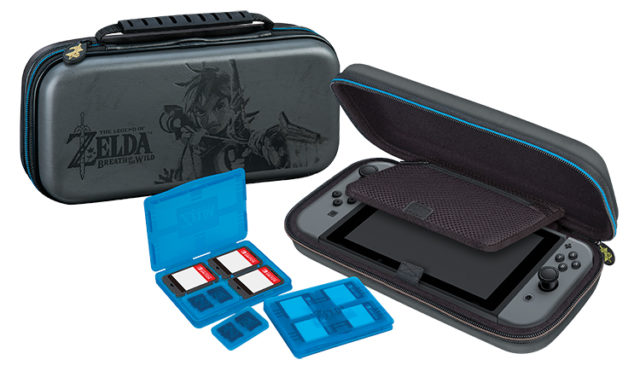 "Deluxe travel case official Zelda"" "" - Packshot"