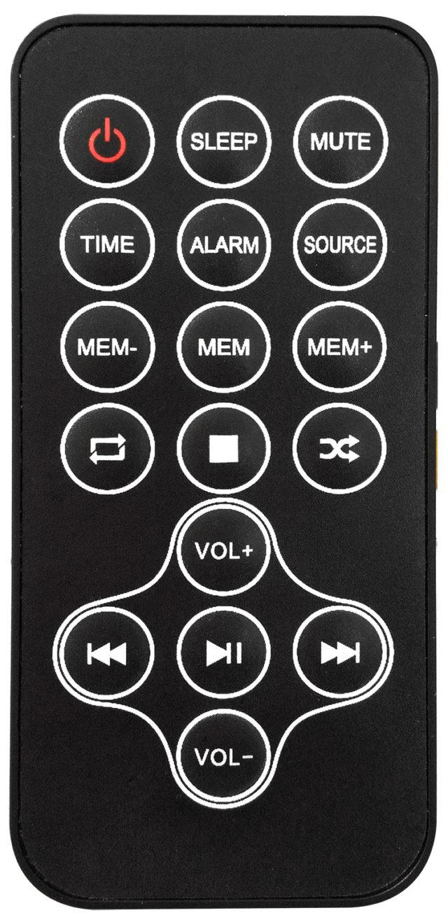 Multimedia tower / CD player (black) – Image  #1