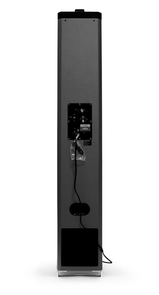2.1CH multimedia tower (black) – Image  #1