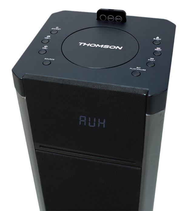 2.1CH multimedia tower (black) – Image  #2tutu#4tutu