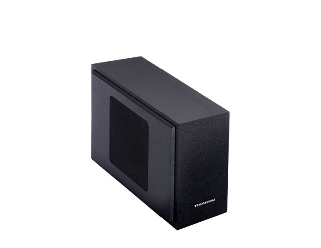Soundbar with wired subwoofer – Image  #1