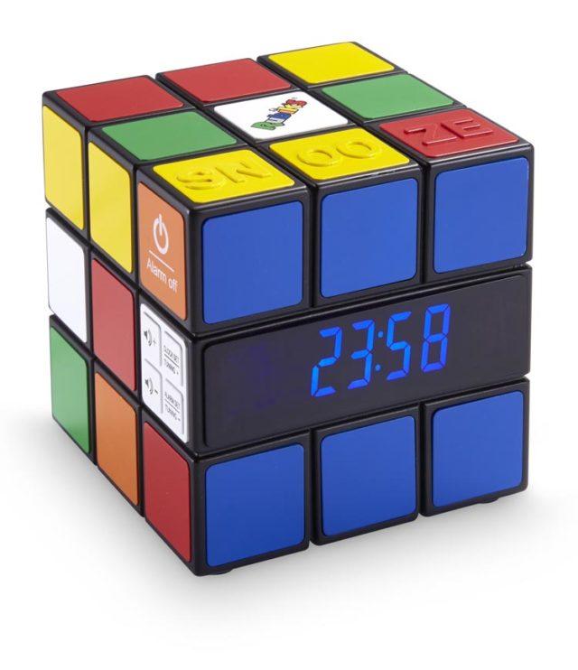 Radio alarm clock Rubik's® - Packshot