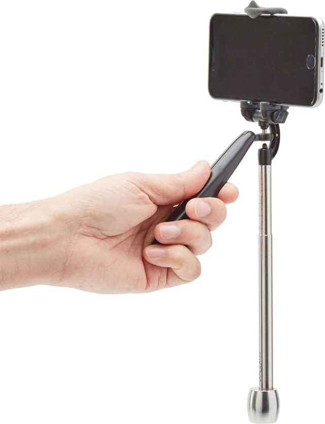Mini hand held camera stabilizer for smartphone and action cam - Packshot