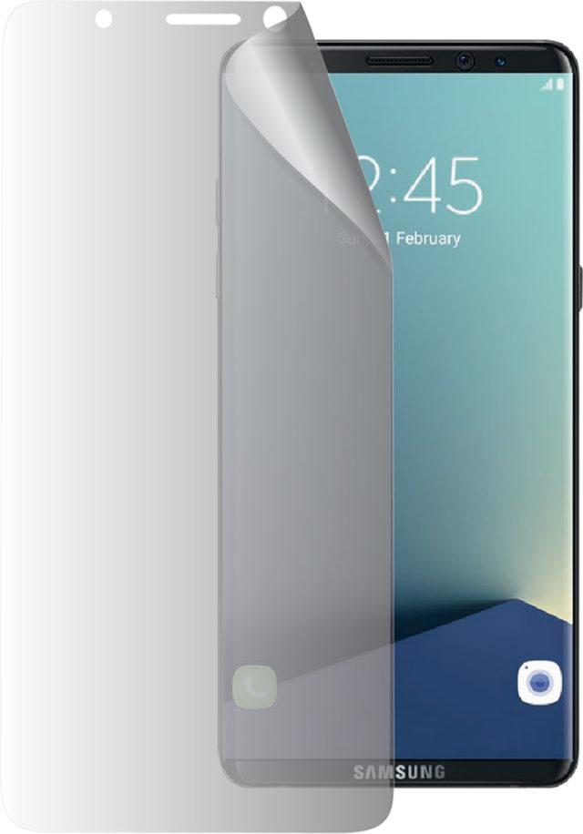 A Samsung screen protector - Packshot