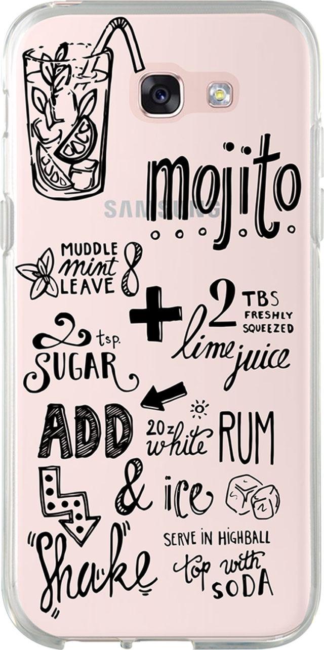 Semi-rigid case (Clear Mojito recipe) - Packshot