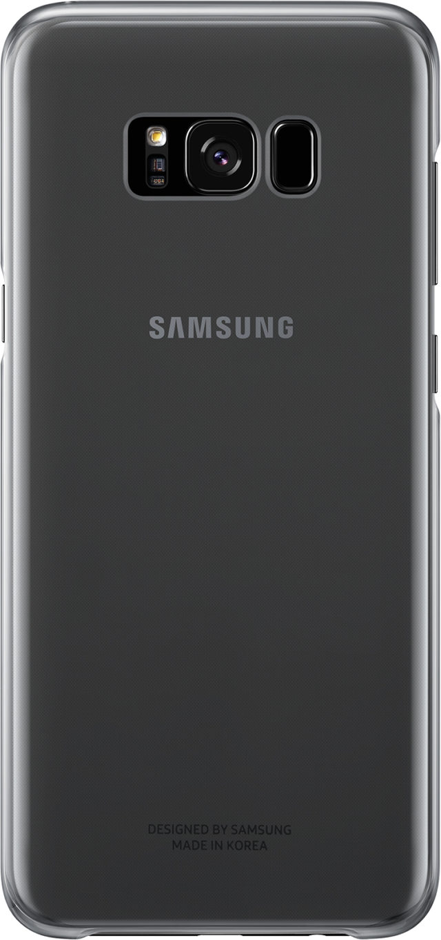 Semi-rigid case Samsung (clear black) - Packshot