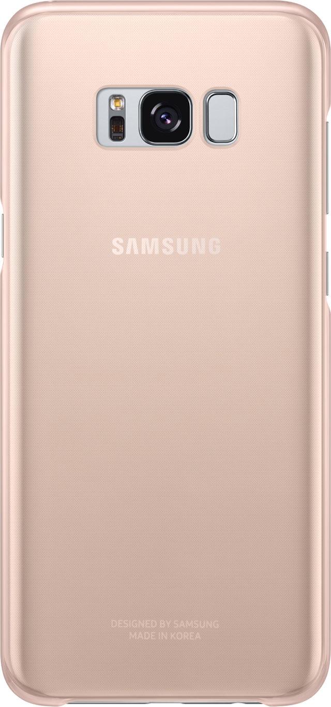 Semi-rigid case Samsung (clear pink) - Packshot