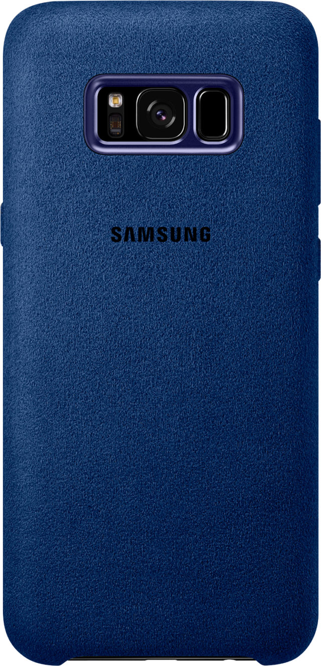 Hard case Samsung (Alcantara blue) - Packshot