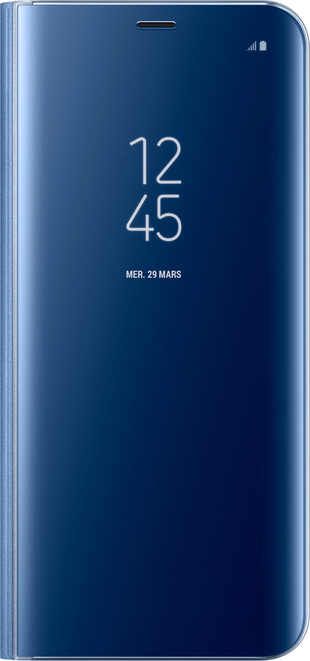 Folio Case Clear View Cover Samsung (blue) - Packshot