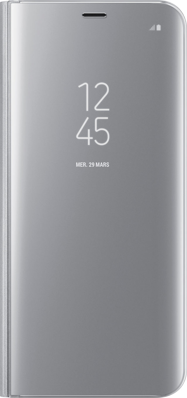 Folio Case Clear View Cover Samsung (silver) - Packshot